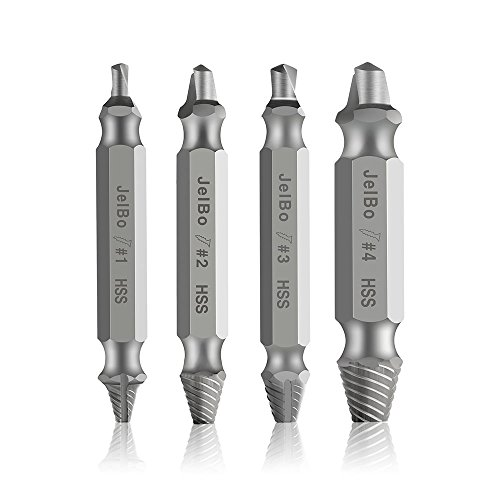 Damaged Screw Extractor 4x Vastar Drill bits for remove damaged screws
