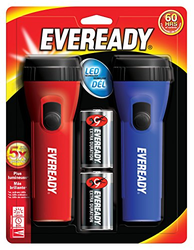 Eveready Evel152s Flashlight 2 Pack Toolsoid