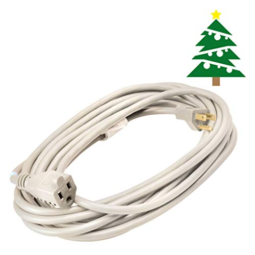 Yard Master 992382 White Outdoor Patio Cord 40 Foot